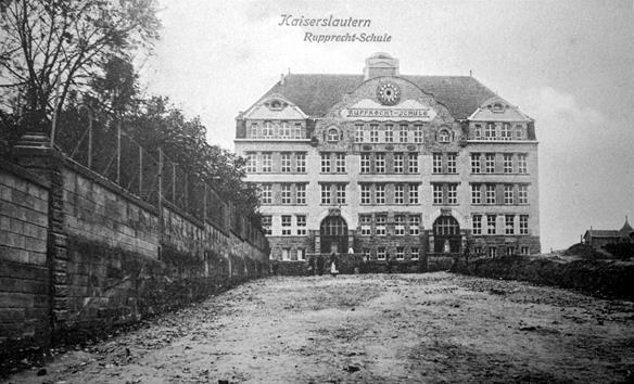 Rupprechtschule im Jahre 1907