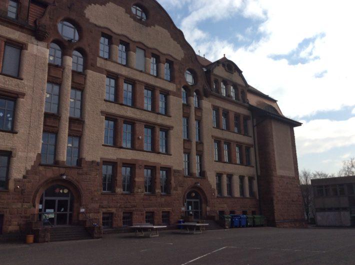 Gebäude vom Hof aus